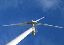 Wind NI 1011 Turbine Running 061